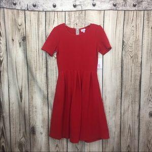 NWT LuLaRoe Red Swing Dress Medium